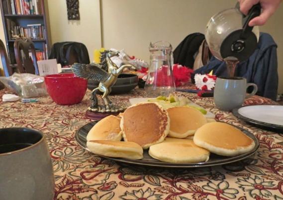 kregor post-halloween breakfast
