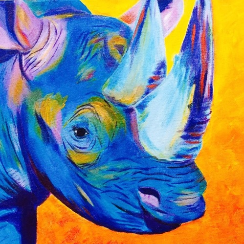 Acrylic Rhino (1)